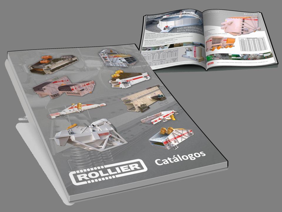 Portada Catálogos Rollier de Maquinaria Industrial Vibrante