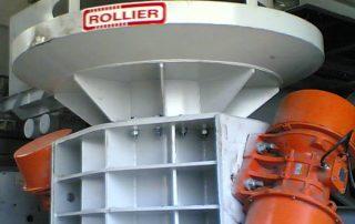 Elevador Vibrante Rollier para alúmina