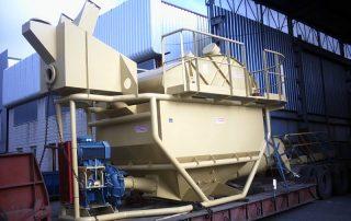 Grupo de lavado de arenas GSS Almería transporte