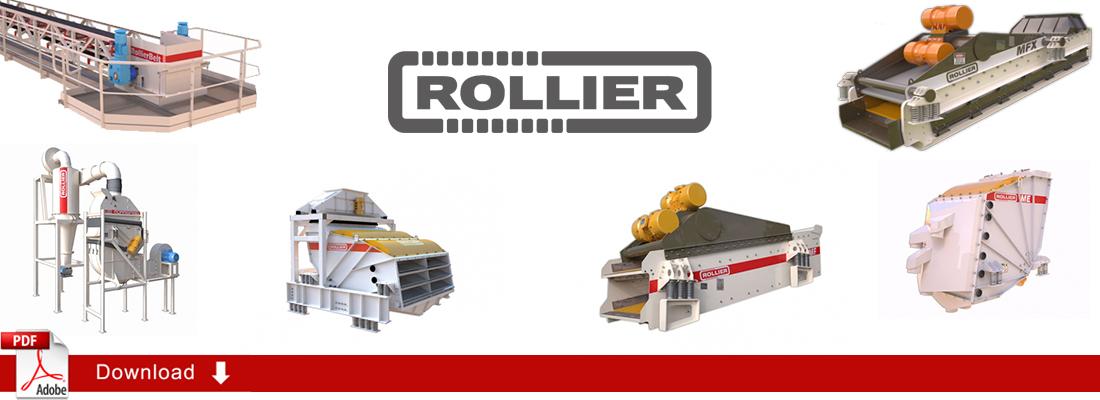 Maquinaria Industrial Vibrante Rollier