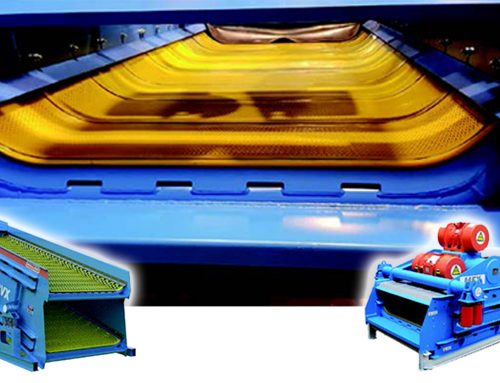 Waste Management & Treatment with Rollier MFX and CVX Polyurethane Elastic Mesh (Flip Flop) Screens